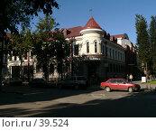 Купить «Псков, здание сбербанка», фото № 39524, снято 15 сентября 2006 г. (c) A Челмодеев / Фотобанк Лори