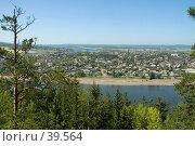 Купить «Вид на Киренск», фото № 39564, снято 24 июля 2005 г. (c) Саломатов Александр Николаевич / Фотобанк Лори