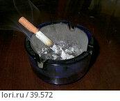 Пепельница. Стоковое фото, фотограф Коннов Георгий / Фотобанк Лори