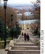 Купить «Ставрополь, лестница», фото № 39724, снято 4 января 2005 г. (c) A Челмодеев / Фотобанк Лори