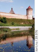 Купить «Спасо-Евфимиев монастырь, Суздаль, отражение», фото № 39976, снято 13 августа 2006 г. (c) Vladimir Fedoroff / Фотобанк Лори
