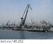 Купить «Мурманск. Морской торговый порт», фото № 40252, снято 1 марта 2007 г. (c) Игорь Осадчий / Фотобанк Лори
