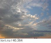 Купить «Вихрь облаков», фото № 40384, снято 22 июня 2006 г. (c) Рамиль / Фотобанк Лори