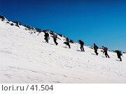 Купить «Эльбрус, восхождение», фото № 41504, снято 20 февраля 2020 г. (c) Александр Демшин / Фотобанк Лори