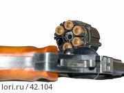 Купить «Револьвер. в барабане нет одного патрона», фото № 42104, снято 8 апреля 2020 г. (c) SummeRain / Фотобанк Лори