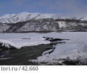 Купить «Оттаивание горой речки», фото № 42660, снято 30 апреля 2007 г. (c) Maxim Kamchatka / Фотобанк Лори