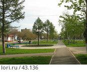 Купить «Парк на проспекте Дзержинского», фото № 43136, снято 13 мая 2007 г. (c) RuS / Фотобанк Лори