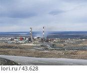 """Купить «Комбинат """"Печенганикель"""", г Никель», фото № 43628, снято 3 января 2006 г. (c) Виталий Матонин / Фотобанк Лори"""