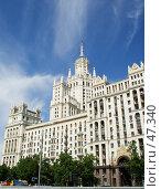 Купить «Дом на Котельнической набережной, г.Москва», фото № 47340, снято 24 мая 2007 г. (c) Ольга Марк / Фотобанк Лори