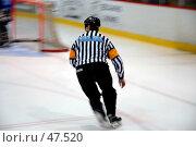 Хоккейный арбитр. Стоковое фото, фотограф Андрей Лабутин / Фотобанк Лори