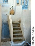 Купить «Цветочный горшок на каменной лестнице», фото № 47552, снято 16 сентября 2005 г. (c) Знаменский Олег / Фотобанк Лори