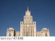 Купить «Высотка на Красных воротах, Москва», фото № 47848, снято 24 марта 2007 г. (c) Fro / Фотобанк Лори