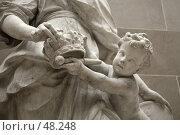 Купить «Фрагмент скульптуры», эксклюзивное фото № 48248, снято 5 мая 2007 г. (c) Юлия Кузнецова / Фотобанк Лори