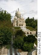 """Купить «Сакре-Кёр. Парк """"франция в миниатюре""""», эксклюзивное фото № 48252, снято 11 мая 2007 г. (c) Юлия Кузнецова / Фотобанк Лори"""