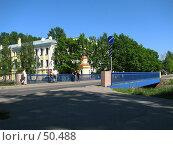 Купить «Синий мост в Кронштадте», фото № 50488, снято 3 июня 2007 г. (c) Людмила Жмурина / Фотобанк Лори