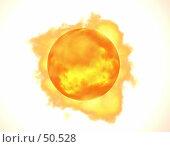 Купить «Огненный шар. Белое.», иллюстрация № 50528 (c) Захаров Владимир / Фотобанк Лори