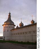 Купить «Ростов Великий. Стена Кремля», фото № 51824, снято 2 сентября 2006 г. (c) АЛЕКСАНДР МИХЕИЧЕВ / Фотобанк Лори