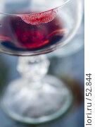 Купить «След от губной помады на бокале», фото № 52844, снято 15 июня 2007 г. (c) Лисовская Наталья / Фотобанк Лори