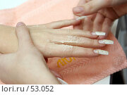 Купить «Уход за руками», фото № 53052, снято 15 ноября 2006 г. (c) Чермянина Мария / Фотобанк Лори