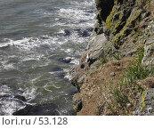 Купить «Океан разбивает скалы», фото № 53128, снято 2 июня 2007 г. (c) Maxim Kamchatka / Фотобанк Лори
