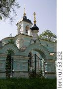 Купить «Дмитров. Казанская церковь в Подлипичье», фото № 53232, снято 27 мая 2007 г. (c) Julia Nelson / Фотобанк Лори