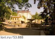 Купить «Тенистый сквер с фонтаном», фото № 53888, снято 25 мая 2007 г. (c) Вячеслав Потапов / Фотобанк Лори