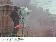 Купить «Телеоператор за работой. Прямая трансляция.», фото № 56944, снято 10 июня 2007 г. (c) Захаров Владимир / Фотобанк Лори