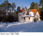 Купить «Дом-музей Поленово зимой», фото № 58740, снято 24 февраля 2007 г. (c) Вячеслав Потапов / Фотобанк Лори