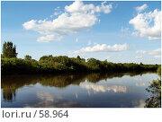 Купить «Обычный деревенский пейзаж», фото № 58964, снято 7 июня 2007 г. (c) Евдокимова Мария Борисовна / Фотобанк Лори