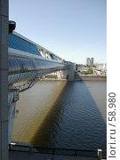 """Купить «Торгово-пешеходный мост """"Багратион""""», фото № 58980, снято 3 июня 2007 г. (c) urchin / Фотобанк Лори"""