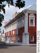 Купить «Резиденция митрополита Ювеналия. Новодевичий монастырь», фото № 59232, снято 17 июня 2007 г. (c) urchin / Фотобанк Лори