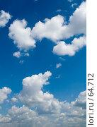 Купить «Летнее небо», фото № 64712, снято 25 июня 2007 г. (c) Угоренков Александр / Фотобанк Лори