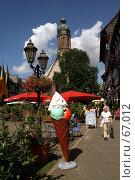 Купить «Германия. Эйнбек. Городской пейзаж», фото № 67012, снято 18 июля 2007 г. (c) Александр Секретарев / Фотобанк Лори