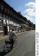Купить «Германия. Эйнбек. Городской пейзаж», фото № 67020, снято 18 июля 2007 г. (c) Александр Секретарев / Фотобанк Лори