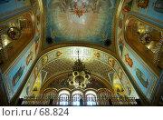 Купить «Внутреннее убранство Храма Христа Спасителя.  Верхняя зала.  Москва.», фото № 68824, снято 3 июня 2007 г. (c) Ирина Мойсеева / Фотобанк Лори