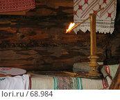 Купить «Горящая лучина», эксклюзивное фото № 68984, снято 5 августа 2007 г. (c) Ольга Хорькова / Фотобанк Лори