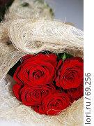 Купить «Букет алых роз», фото № 69256, снято 5 августа 2007 г. (c) Лифанцева Елена / Фотобанк Лори