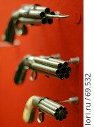 Купить «Экспонаты Оружейного музея Тулы: антикварное огнестрельное оружие», фото № 69532, снято 10 июня 2007 г. (c) Fro / Фотобанк Лори