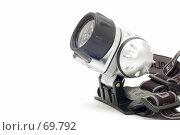 Купить «Налобный  фонарь», фото № 69792, снято 7 августа 2007 г. (c) Угоренков Александр / Фотобанк Лори