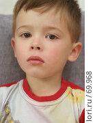 Купить «Лицо мальчика который  плачет», фото № 69968, снято 26 июля 2007 г. (c) Останина Екатерина / Фотобанк Лори