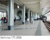 """Купить «Станция метро """"Воробьевы горы""""», фото № 71056, снято 29 июля 2007 г. (c) urchin / Фотобанк Лори"""