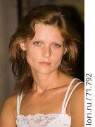 Купить «Портрет девушки в нижнем белье», фото № 71792, снято 28 июля 2007 г. (c) Андрей Старостин / Фотобанк Лори