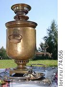 Купить «Самовар в саду», фото № 74656, снято 18 августа 2007 г. (c) Ivan I. Karpovich / Фотобанк Лори