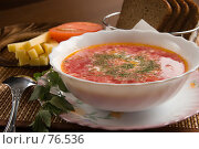 Купить «Вегетарианский суп», фото № 76536, снято 24 августа 2007 г. (c) Влад Нордвинг / Фотобанк Лори