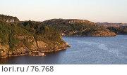Купить «Закат на горном побережье», фото № 76768, снято 14 июля 2006 г. (c) Михаил Лавренов / Фотобанк Лори