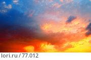 Купить «Все краски заката», фото № 77012, снято 16 августа 2007 г. (c) Анатолий Теребенин / Фотобанк Лори