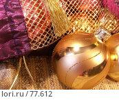 Купить «Новогодний шарик», фото № 77612, снято 23 февраля 2005 г. (c) Fairy Water / Фотобанк Лори