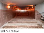 Купить «Подземный пешеходный переход под третьим транспортным кольцом. Москва.», фото № 78892, снято 25 августа 2007 г. (c) Игорь Веснинов / Фотобанк Лори