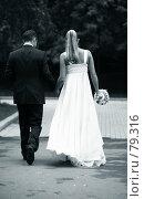 Купить «Прогулка молодоженов», фото № 79316, снято 1 сентября 2007 г. (c) Морозова Татьяна / Фотобанк Лори