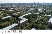 Купить «Панорама Москвы. Юго-Запад. Квартал пятиэтажек», фото № 79496, снято 2 сентября 2007 г. (c) Юрий Синицын / Фотобанк Лори